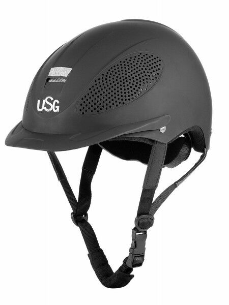 Riding Helmet Comfort Training and Glamour USG Knob Ornament Certified