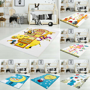 sale kinderteppich spielteppich moda kids eule elefant blumen schmetterlinge ebay. Black Bedroom Furniture Sets. Home Design Ideas