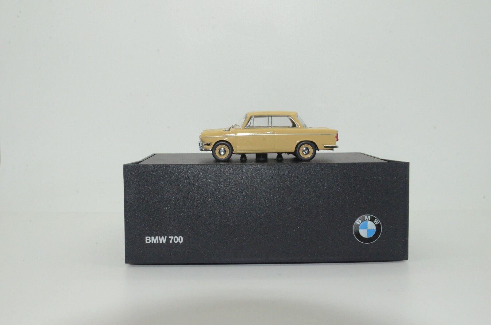 el precio más bajo    rara      Concesionario BMW 700 Caja Minichamps 80420153662 1 43  gran venta