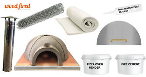 Self Build Segmented Diy Wood Fired Pizza Oven Kit Includes Base