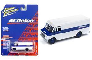 Johnny-Lightning-AC-Delco-1990-GMC-paso-van-camion-de-reparto-que-1-87-Escala-Ho-jlsp-063