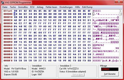 Gentile Vag Eeprom Grammer (solo Software) (semplice Installazione)-