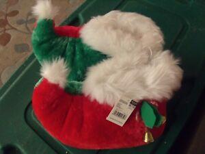Kleidung & Accessoires FäHig Elfen Pantoffeln Weihnachten Santa's Helper Mit Jingle Bells Erwachsene Sz Med PüNktliches Timing