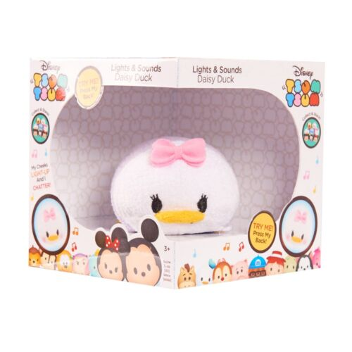 Free Shipping New Hot Disney Tsum Tsum Lights and Sounds Daisy Plush Figure