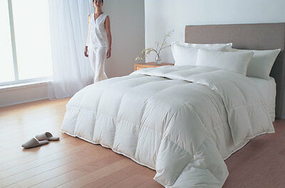 ALL SEASONS HUNGARIAN GOOSE FEATHER & DOWN DUVET QUILT ALL SIZES 4.5 + 9.0 TOG