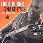 """Snake Eyes by Eddie """"Guitar"""" Burns (CD, May-2002, Delmark (Label))"""