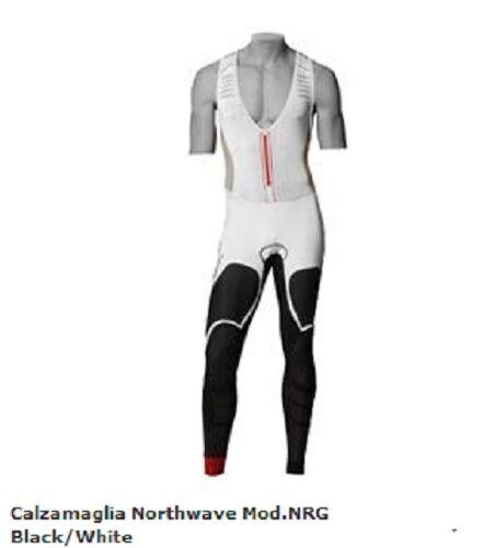 Calzamaglia Northwave Mod.NRG negro blancoo