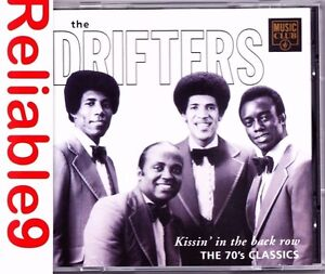 The-Drifters-Kissin-039-in-the-dark-row-the-70-039-s-classics-CD-1993-Music-Club-EU