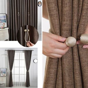 2x-Ball-Magnetic-Curtain-Buckle-Holder-Tieback-Clips-Home-Window-Accessories