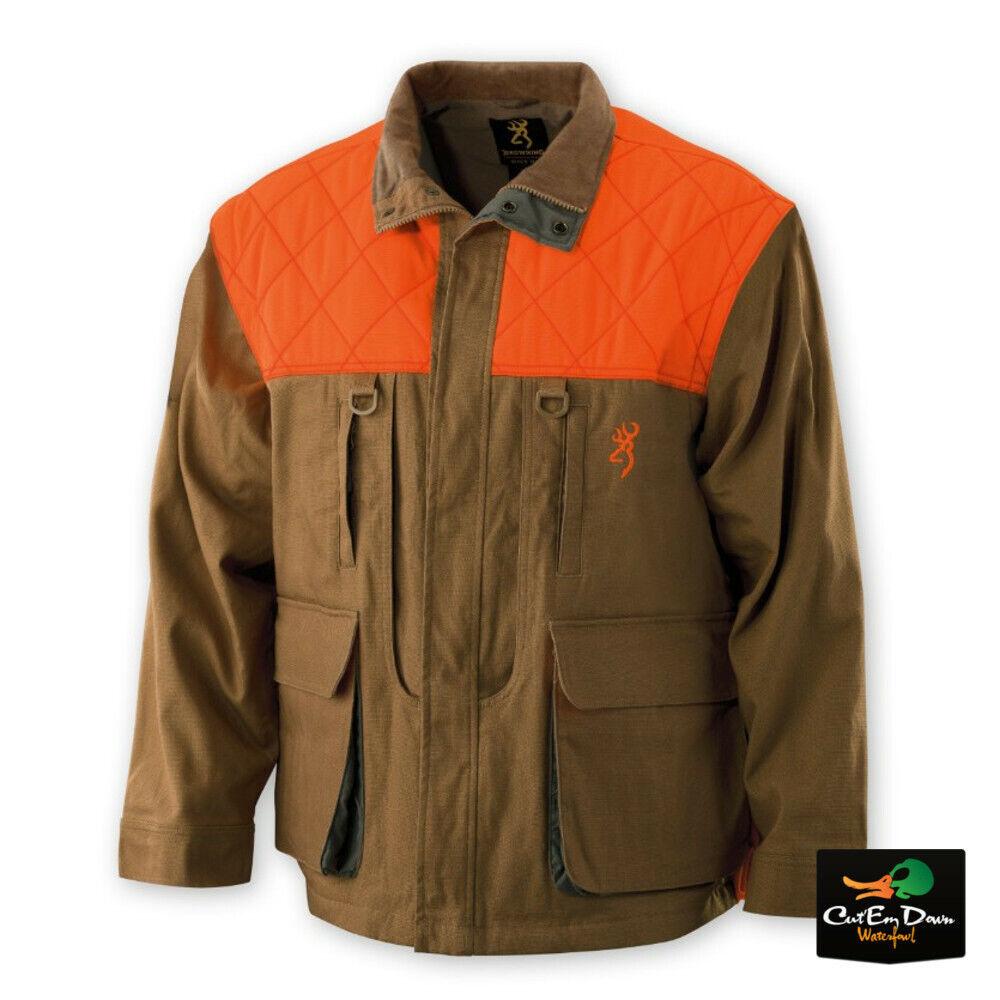 marrónING Faisanes Forever Upland Abrigo Chaqueta de campo sin logotipo Lona Marrón Blaze