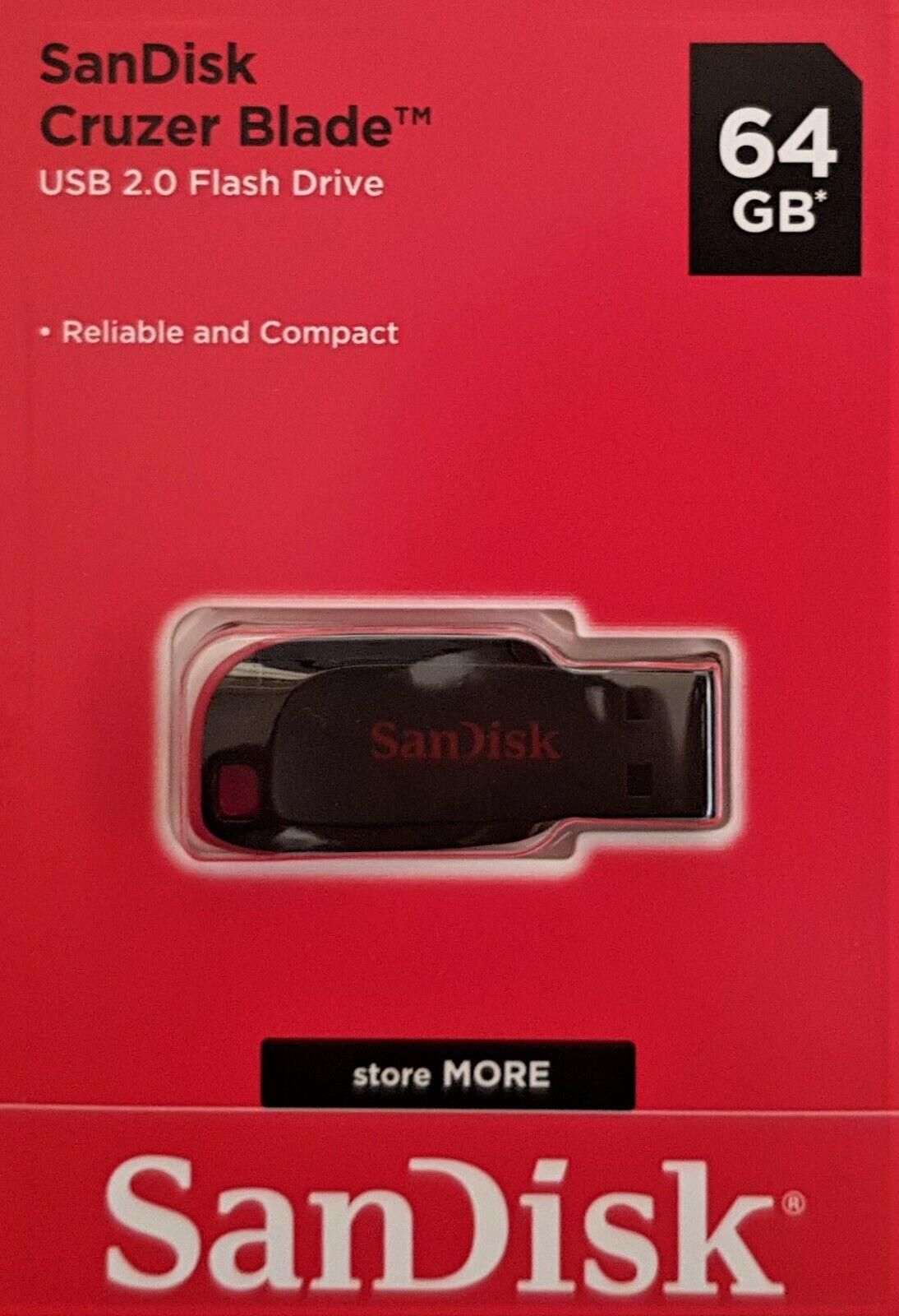1x 64GB USB Stick