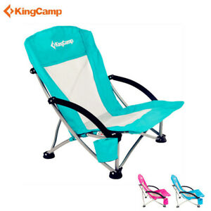 Surprising Details About Kingcamp Low Sling Beach Chair Folding Cup Holder Portable Yard Outdoor Seat Ocoug Best Dining Table And Chair Ideas Images Ocougorg