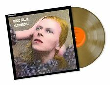 BOWIE DAVID HUNKY DORY (LIMITED EDT.) VINILE LP GOLD NUOVO