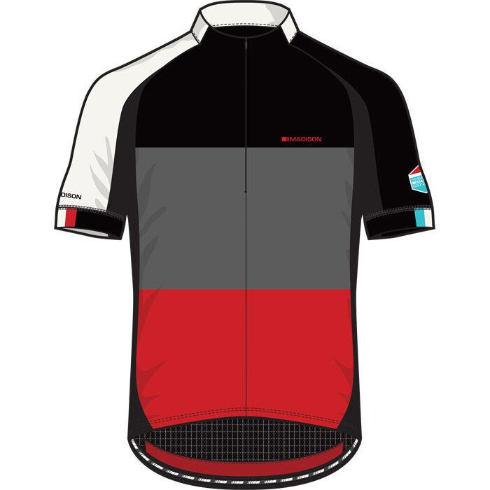 Madison Sportive half-zip Herren short sleeve jersey