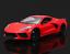 Maisto-1-18-2020-Chevrolet-Corvette-Stingray-Coupe-C8-Diecast-Model-Racing-Car thumbnail 4