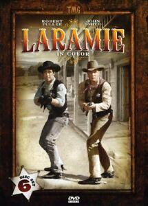Laramie-la-tercera-temporada-en-color-DVD-Nuevo-Conjunto-en-caja-tintados-caso-de-estano