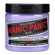 MANIC PANIC Classic Cream Virgin Snow™Semi-Permanent 4oz Vegan Hair Dye.