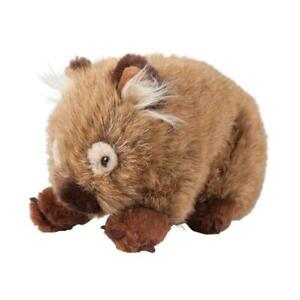 "Wombat soft plush toy Tubby 9""/23cm stuffed animal Outbackers by MINKPLUSH - NEW"