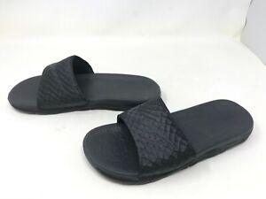 Mens Nike (705474-091) Benassi Solarsoft 2 black slides sandals