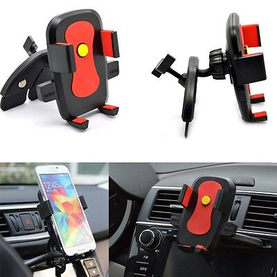 Universal Car CD Slot Dash Mount Holder Cradle Dock Stand for Mobile Phone GPS