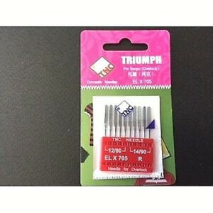 NEEDLES FOR JANOME COVER PRO ELX705 Size 14//90
