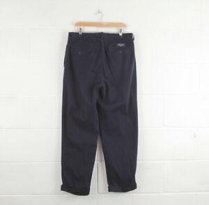 VINTAGE-POLO-RALPH-LAUREN-MEN-039-S-Blu-Navy-Pantaloni-Chino-Hammond-W34-L30