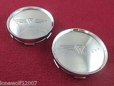 Rousch Wheels Chrome Custom Wheel Center Caps Set Of 2 F00 001
