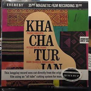 KHACHATURIAN-CONCERTO-FOR-PIANO-P-KATIN-HUGO-RIGNOLD-LSO-VINYL-LP-200-GRAM