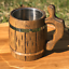 Wood Beer Mug Oak Quality Special Wood Heat Treatment Processing Europe Tankard