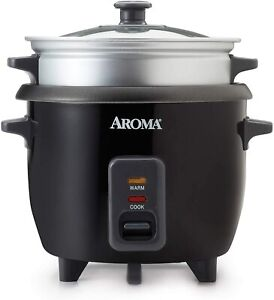 Aroma-Rice-Cooker-Steamer-Multi-cooker-2-6-cups-Cooked-ARC-363-1NGB
