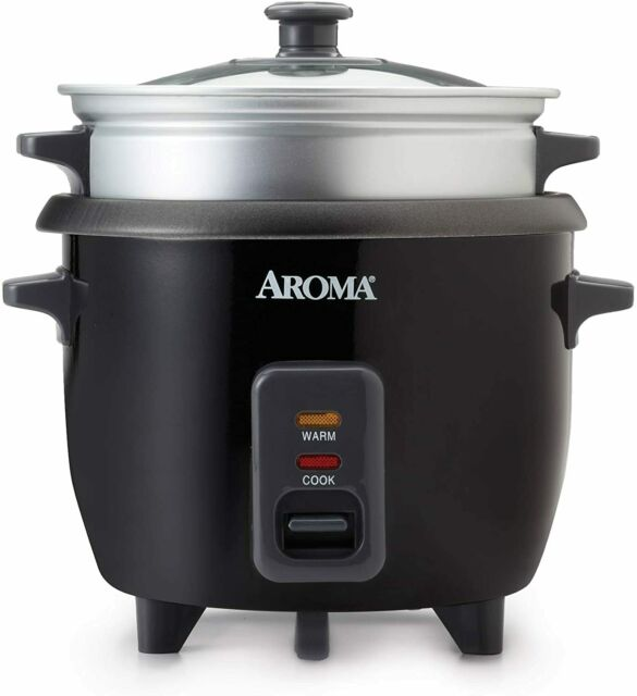 Aroma Rice Cooker, Steamer, Multi-cooker   2-6 cups Cooked   ARC-363-1NGB