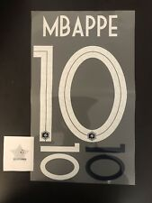 Patch Flocage Nameset MBAPPE #10 ÉQUIPE DE FRANCE 2018 Domicile ⭐️⭐️ Jersey