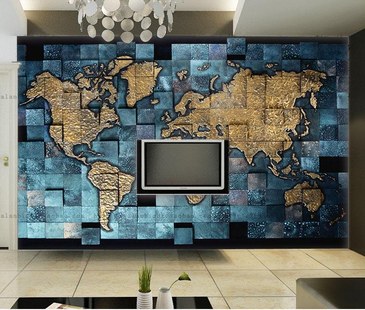 3D Eine große Karte 2566 Fototapeten Wandbild Fototapete BildTapete Familie DE