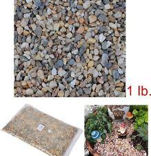 Small Stone Mini Rocks River Fairy Garden Decorative Pathway Dollhouse Terrarium