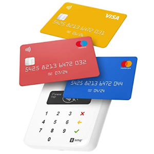 Card readers that accept cryptocurrencies
