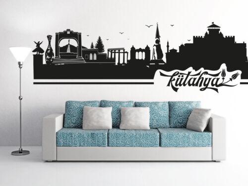 Mural Skyline Kütahya Turquie Turc Salon Istanbul murale