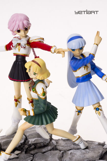 Fuu And Hiaru Umi Rayearth Magic Knight Miglior Caff/è Regalo 11 Oz