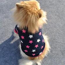 Fashion Pet Dog Cat Villus Warm Clothes Star Coats Puppy Doggy Apparel Clothing