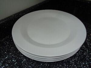 DENBY-JAMES-MARTIN-WHITE-LARGE-DINNER-PLATES-X-4