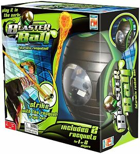 RARE NIB Fotorama Galaxy Tennis Game Virtual Ping Pong Fast Blaster Ball Racquet