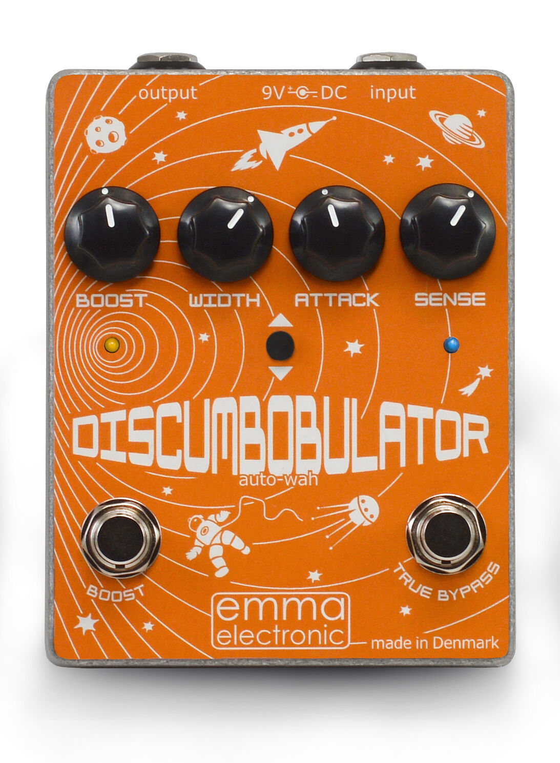 EMMA electronic Discumbobulator 2 (NEW MODEL) Envelope Filter and Boost Pedal
