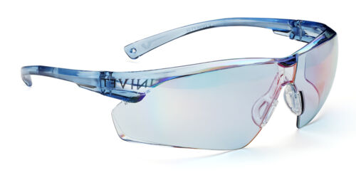 505U.00.00.37 Univet 505 Blue Lens Safety Glasses With Neck Cord Cycling 9020F