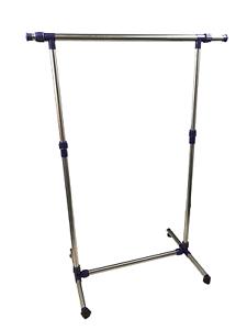 Chromée Portemanteau Penderie rôles Support largeur 93-145 cm