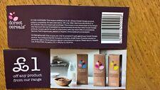 10 Dorset Cereals £1 Supermarket Food Coupon Voucher Worth £10 Expires 31/12/18
