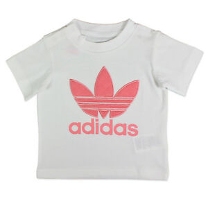 13eae8d7c01b4 Image is loading Adidas-originals-trefoil-quilted-tee-baby-girl-children-