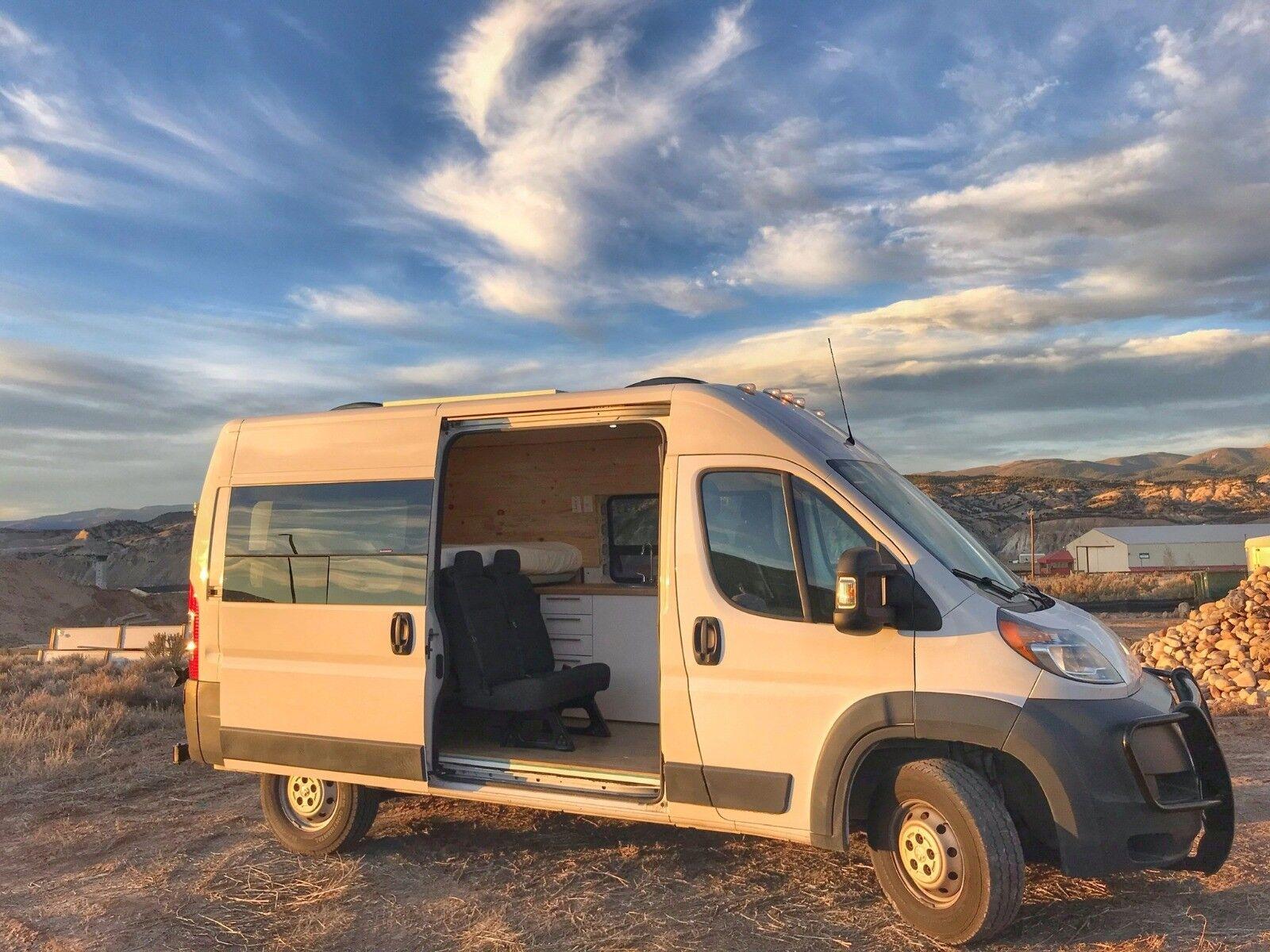 Dodge Ram Promaster Custom Camper Van Conversion – Buy