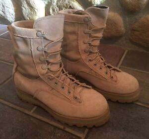 Army Desert Camo Combat Boot Size 5R