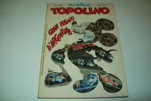 WALT-DISNEY-TOPOLINO-MICKEY-MOUSE-LIBRETTO-MONDADORI-N-1323-5-APRILE-1981