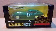Jaguar E-type Vintage Exin Triang Scalextric SCX MSC GOM OSC Cartrix Reprotec