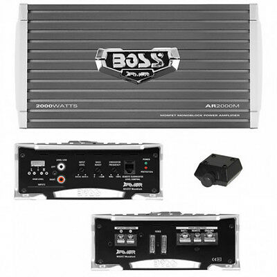 NEW 3000w Monoblock Car Subwoofer Amplifier.Power Speakers subs Amp.2Ohm.Bass.AB
